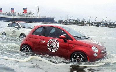 Fiat на воде