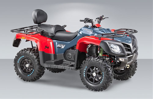 Правая сторона квадроцикла STELS ATV 800g