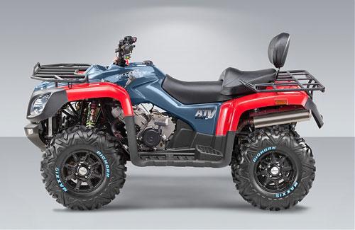 Левая сторона квадроцикла STELS ATV 800g