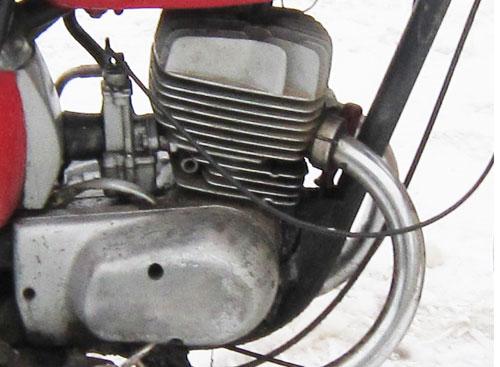 Двигатель мотоцикла Восход 3М