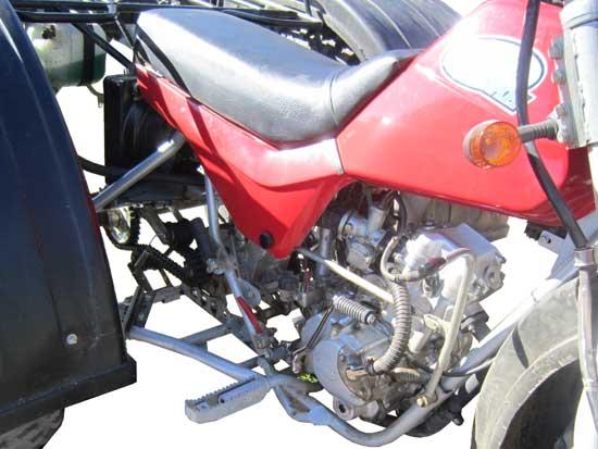 Двигатель Бархана
