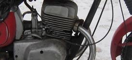 Двигатель мотоцикла восход-3м