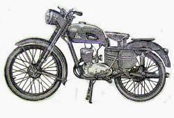 Мотоцикл К-58