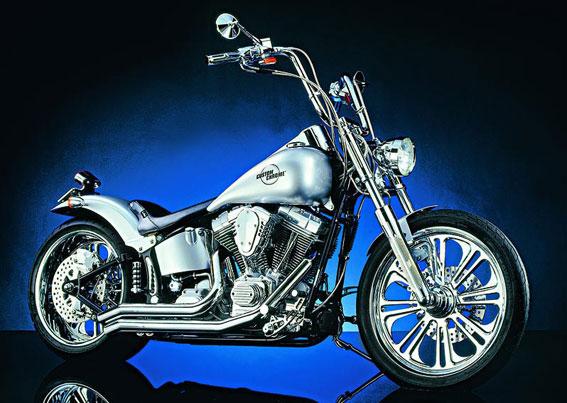 Custom Chrome-Harley-Davidson