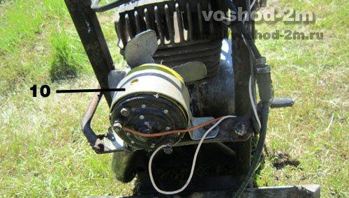 Детали самодельной лебедки для вспашки электрический мотор.