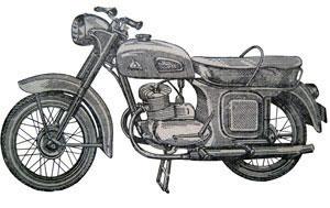 Мотоцикл К-175