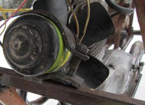 Охлаждение двигателя самодельного вездехода