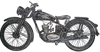 Мотоцикл К-125
