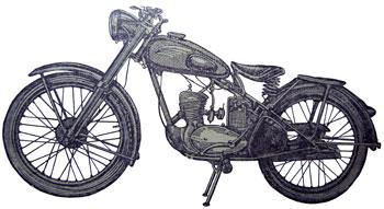 Мотоцикл К-125М