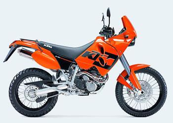 Мотоцикл KTM 640 LC4 Adventure