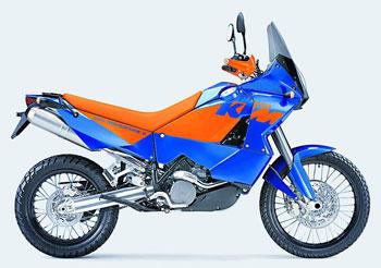 Мотоцикл KTM 950 Adventure/S
