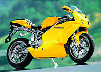 Мотоцикл Ducati 749/Dark
