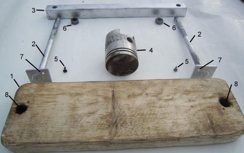 Детали самодельного вулканизатора