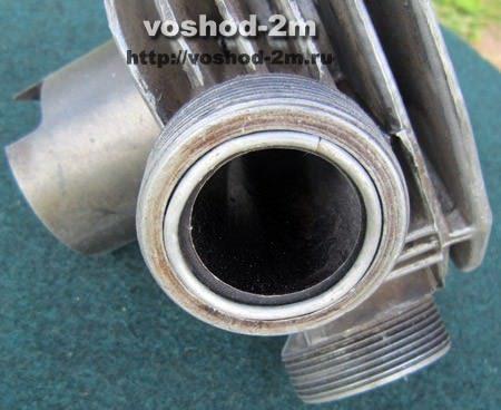 Глушитель кольцо уплотнительное Восход-3м