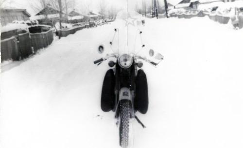 Мотоцикл Восход 2М фото 1977года