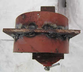 Основание ступицы с двумя кольцами