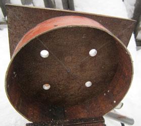 Соединение основания ступицы и кольца