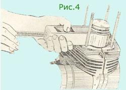 Снятие и установка пошневого пальца