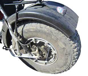 Переднее колесо Бархана