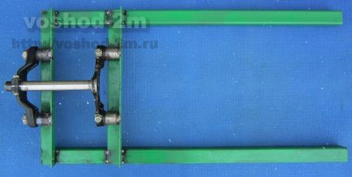 Передняя вилка (передний амортизатор) по кочкам 15