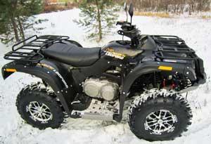 Снегоболотоход ATV 600 Leopard