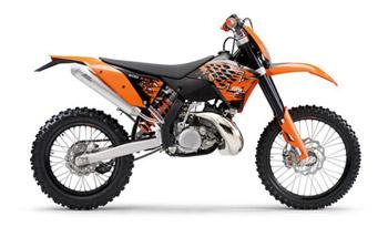 Внедорожный мотоцикл KTM 200 EXC